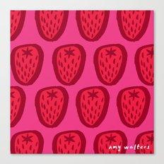 Kent Strawberries Canvas Print