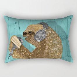 Sloth Song Rectangular Pillow