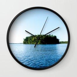 Bottle Island Wall Clock
