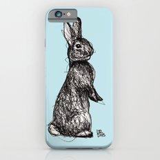 Blue Woodland Creatures - Rabbit iPhone 6s Slim Case