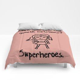 Down Syndrome Superhero Chromosomal Girl Kid  Gift Comforters
