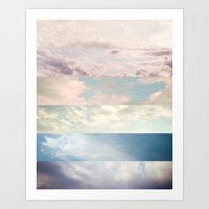 Cloud Study Art Print