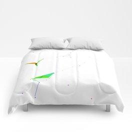 Pájaros de Papel Comforters