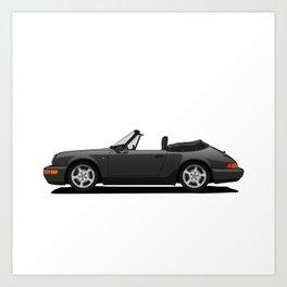 Convertible Car Art Print