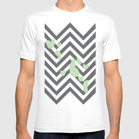 Leafy Chevron T-shirt
