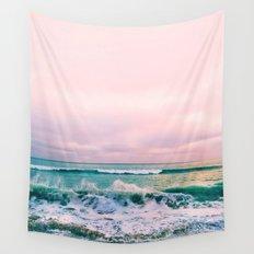 beach sunset photo Wall Tapestry