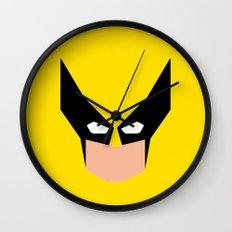 Wolverin e superhero Wall Clock