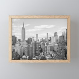 New York New York Framed Mini Art Print