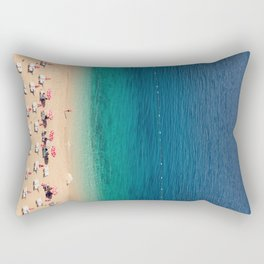 World list beach,Turkey Rectangular Pillow