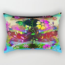 NightBloom Rectangular Pillow