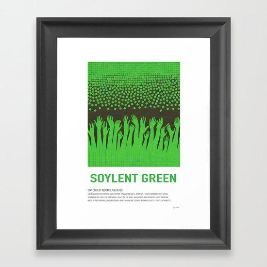 Soylent Green (1973) Framed Art Print