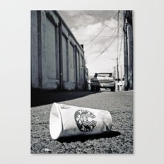 Starbucks dream Canvas Print