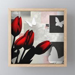 Assorted Squares, Flowers & Butterflies Framed Mini Art Print
