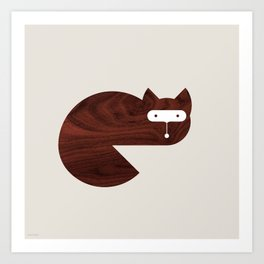 Minanimals: Fox Art Print