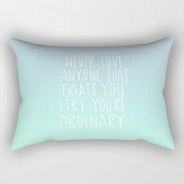 Oscar Wilde: Ordinary Rectangular Pillow
