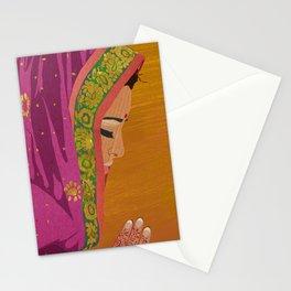 Henna Prayer Hands Stationery Cards