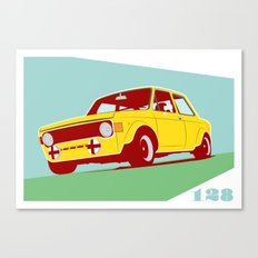 Fiat 128 Canvas Print