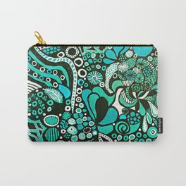 Seahorse SeaSide Closeup Carry-All Pouch