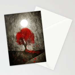 Red autumn. Stationery Cards