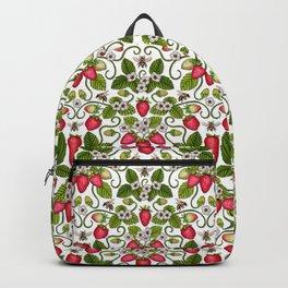 Strawberries & Honey Bees - Spring/Summer Pattern Backpack
