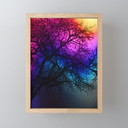 Fall Feels Framed Mini Art Print