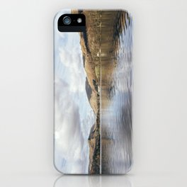 Grasmere and Helm Crag (Lion and the Lamb) beyond. Cumbria, UK. iPhone Case