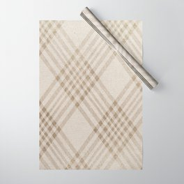 Rich Beige Wrapping Paper