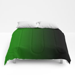 green black feelings Comforters