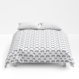 Edna Mode White Pattern nº1 Comforters