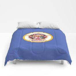 Minnesota State Flag Comforters
