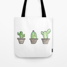 3 types of cactus Tote Bag