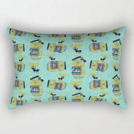 The Pickle Thief (Blue) Rectangular Pillow