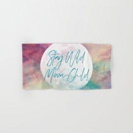 Stay Wild Moon Child Hand & Bath Towel