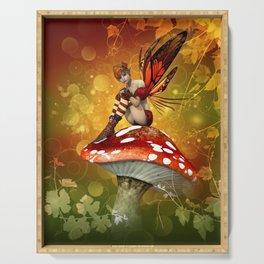 Autumn Fairy Serving Tray