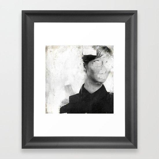 Faceless | number 01 Framed Art Print