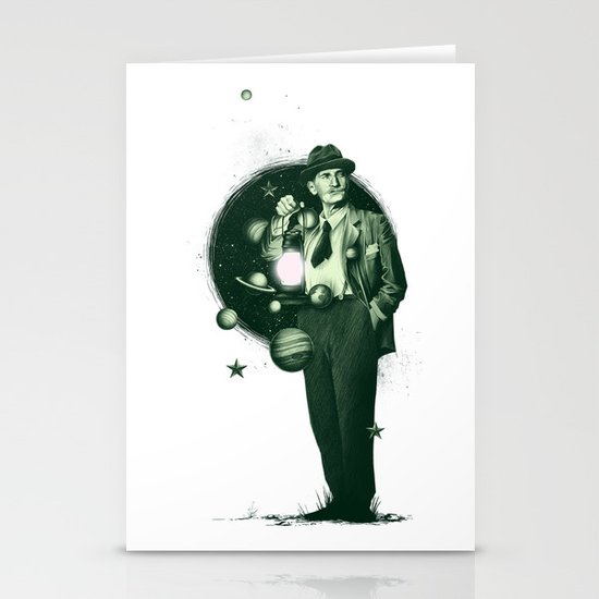 Losing Pluto Stationery Cards