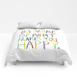 Positive Quote Comforters