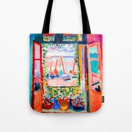 Henri Matisse Open Window Tote Bag