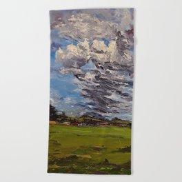 clouds over Sagamore farms Beach Towel