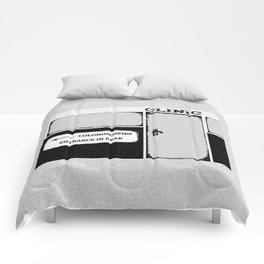 Colonoscopy Colonoscopies Entrance at Rear Funny Cartoon Illustration Comforters