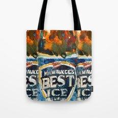 Milwaukee Best Ice Beer  - Miller Ice Tote Bag