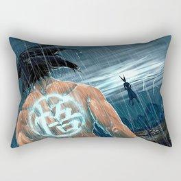 Battle Heroes Rectangular Pillow