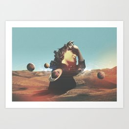 ORBITS II Art Print