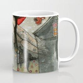 """""""Roofs""""  Illustrated print. Coffee Mug"""