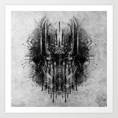 dark thoughts - sauron Art Print