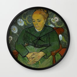 La Berceuse (Portrait of Madame Roulin) Wall Clock