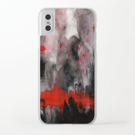 Abstract Acrylic 2 Clear iPhone Case