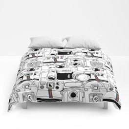Vintage Cameras Comforters