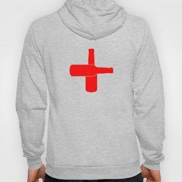 Red Beer Cross Hoody