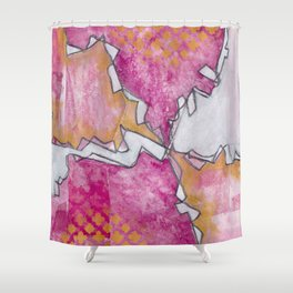 Intuitive - Karla Leigh Wood Shower Curtain